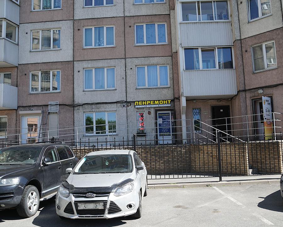 Багетная мастерская в Красногвардейском районе СПб, Ленбагет