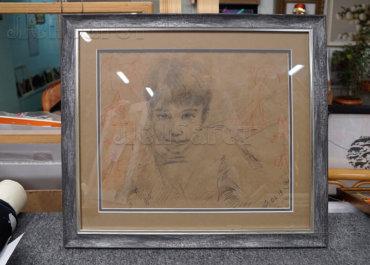 Портрет мальчика. Рисунок