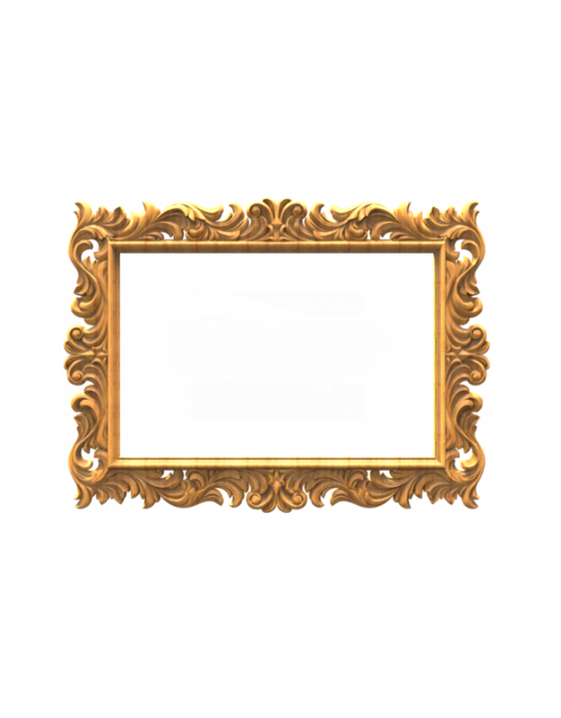 Объемная 3Д рамка для картины