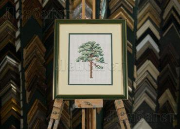 Дерево. Вышивка крестом